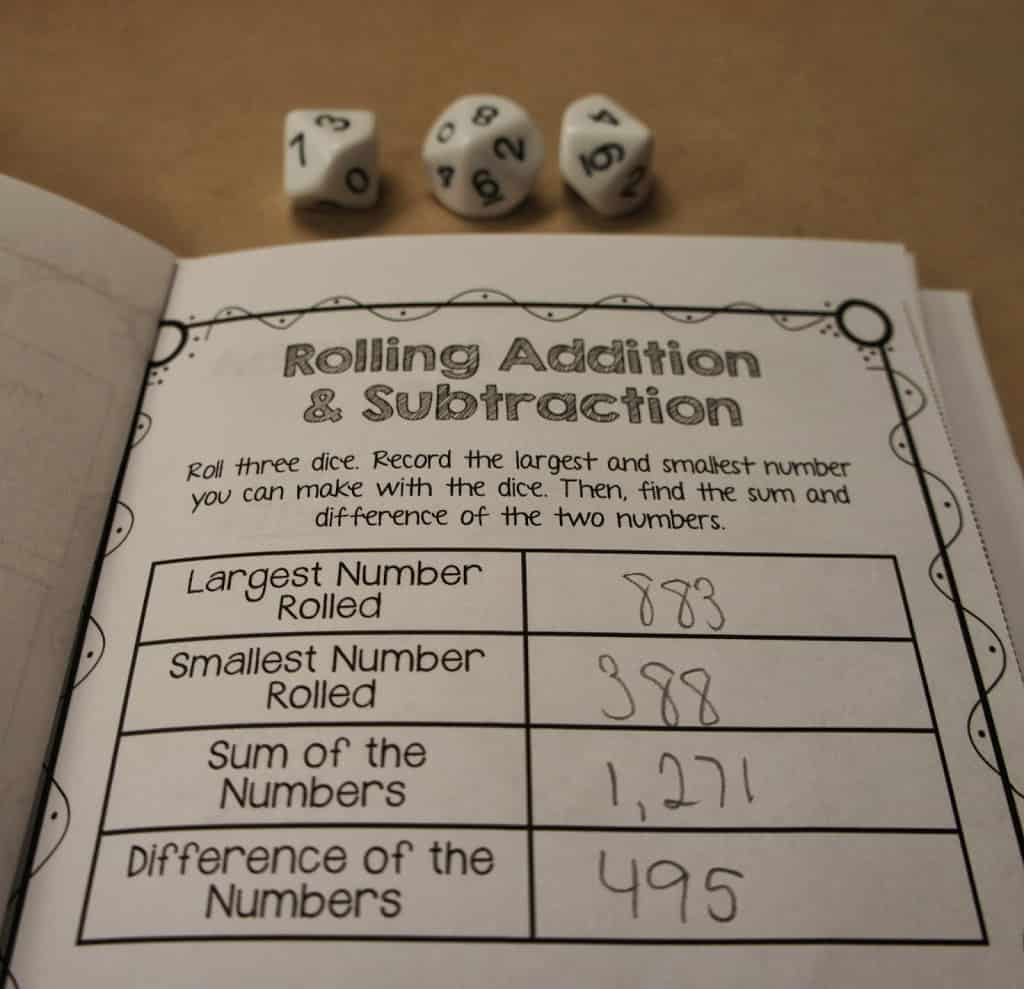 Hands On Addition And Subtraction