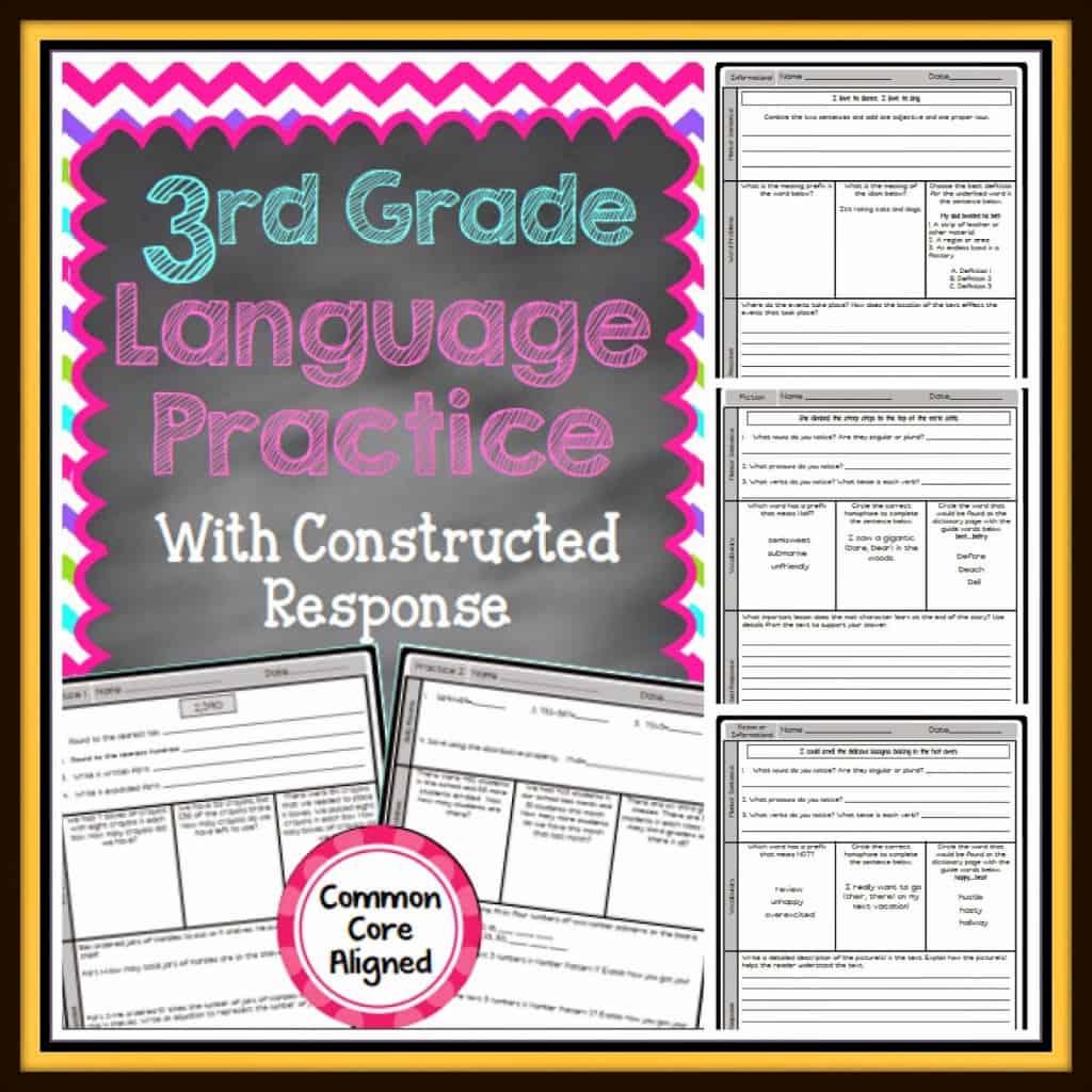 Language Arts Practice