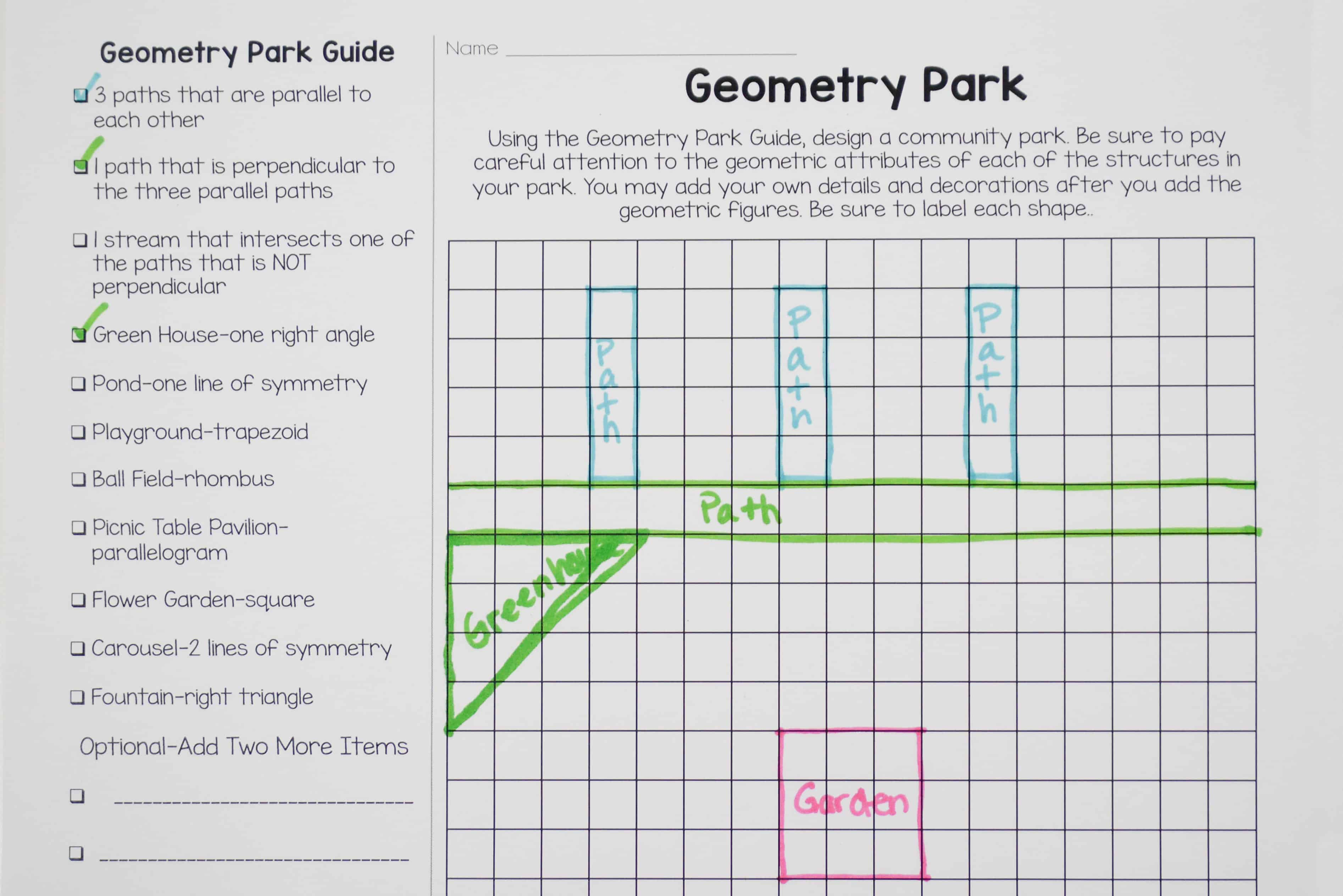 Teaching Symmetry With Different Activities A Allows