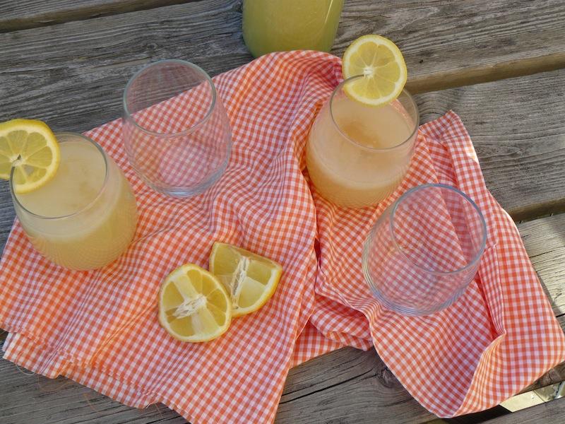 Lazy Girl's Ginger Lemonade - vegan 1