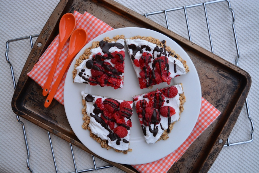 Dairy-free, gluten-free Party Time Dessert Pizza 1