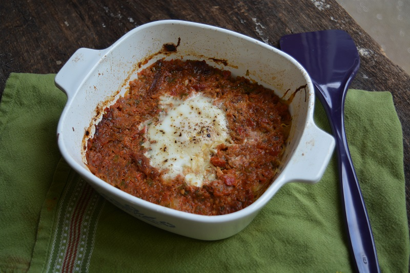 Spaguetti squash with marinara small