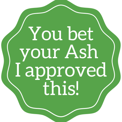Ash Approved seal