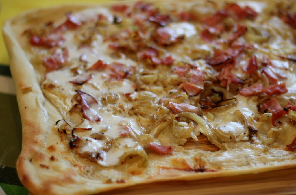 Tarte Flambée: a Recipe for Alsatian Pizza