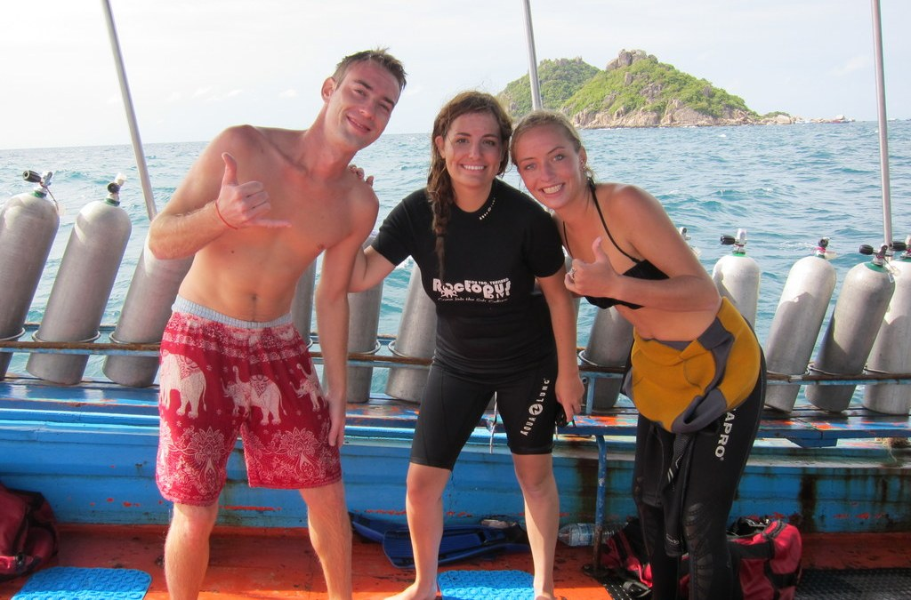 How a Scaredy-Cat Learned to Dive on Koh Tao