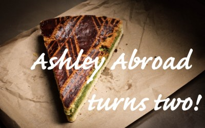 Celebrating a Blogiversary – Ashley Abroad Turns Two!