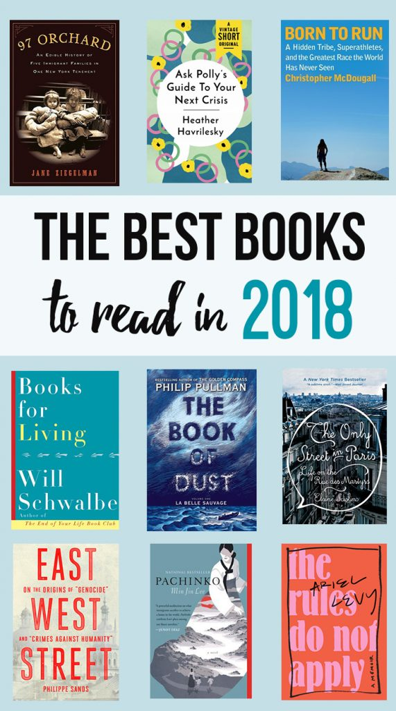 Some incredible books to read this year: Pachinko, Books For Living, and more.
