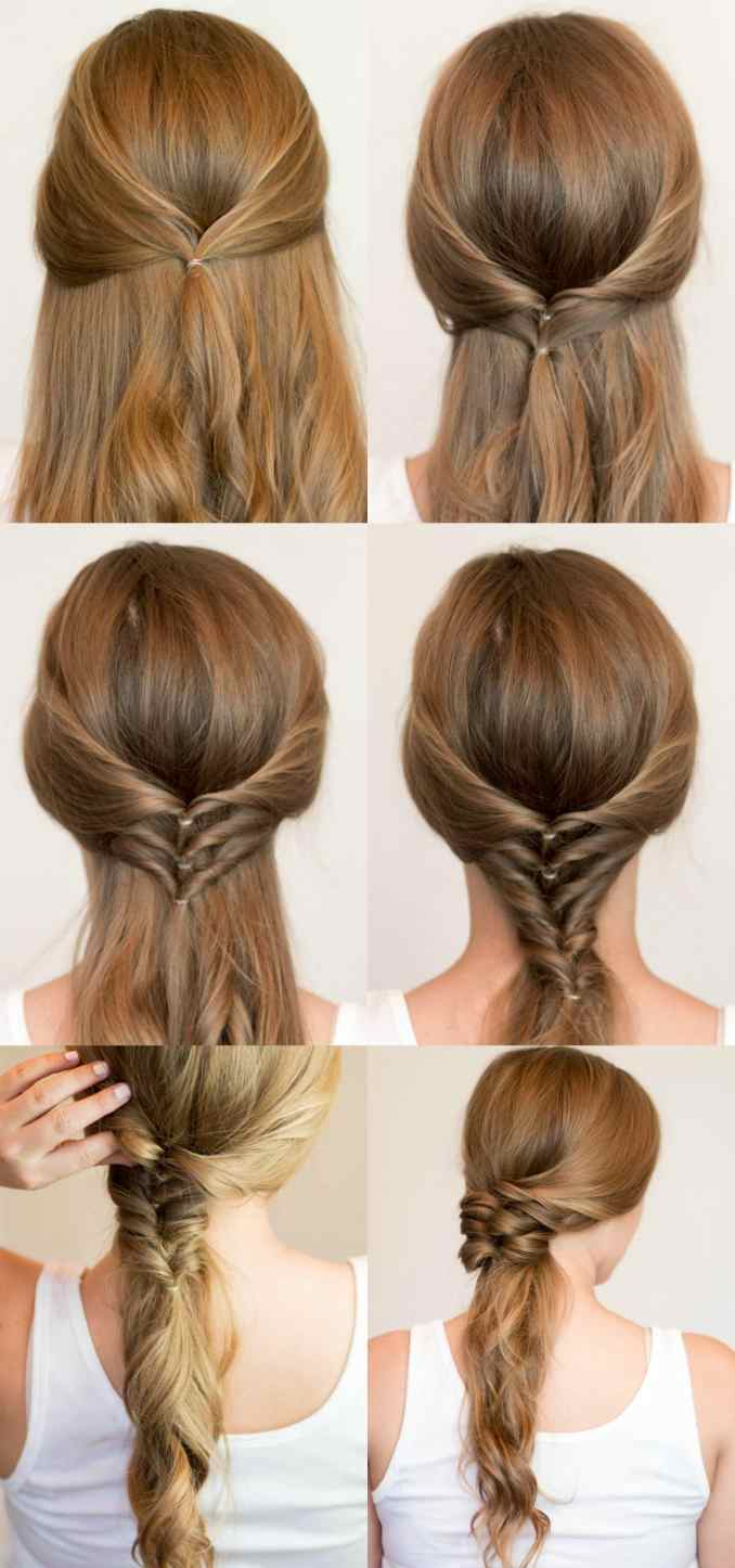 Image Result For Step By Step Hairstyles For Long Hair For School