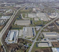 Brownstown Business Center North - Aerial