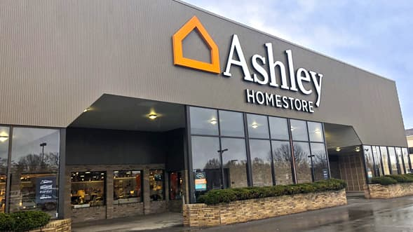 ashley homestore comes to clay new york