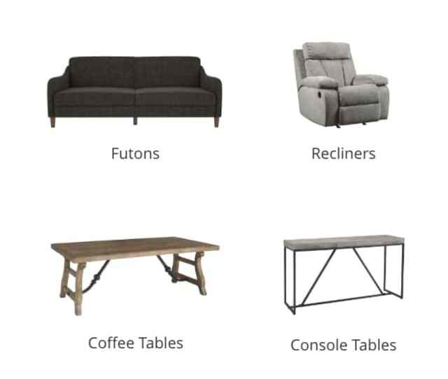Power Seating Futons Recliners Accent Chairs End And Side Tables Coffee