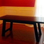 DIY Farmhouse Benchwright Dining Table