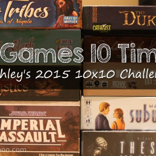 Ashley's 10×10 Challenge for 2015