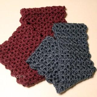 Ashley Makes:  Crochet Infinity Scarf