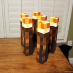 DIY Minecraft Torches