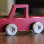 DIY Wooden Toy Truck