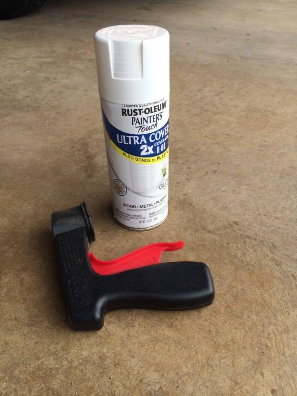 Rust-Oleum Spray paint + Spray Paint Gun