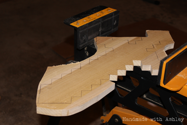 Minecraft wood sword