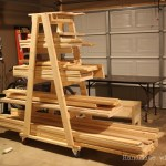 Mobile Lumber Rack
