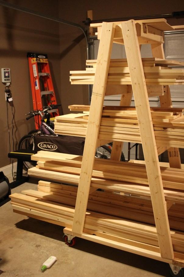 Diy Mobile Lumber Rack Plans By Rogue Engineer