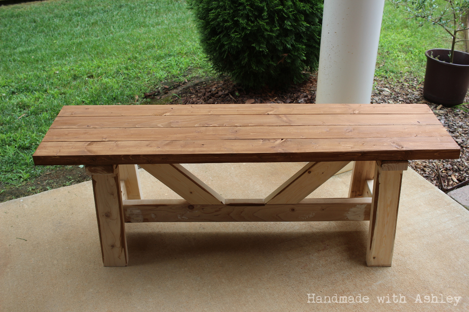 Stupendous Diy Providence Bench Plans By Ana White Handmade With Ashley Ncnpc Chair Design For Home Ncnpcorg