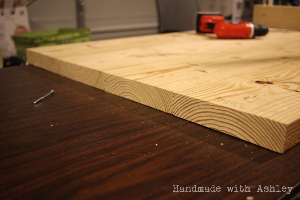 Alternating wood ring direction