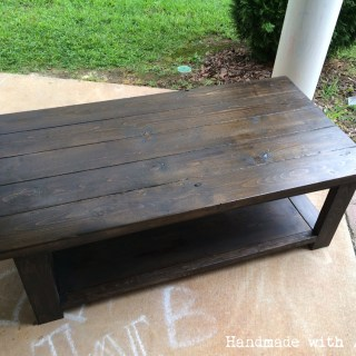 Furniture archives handmade with ashley diy rustic x coffee table plans by ana white greentooth Gallery