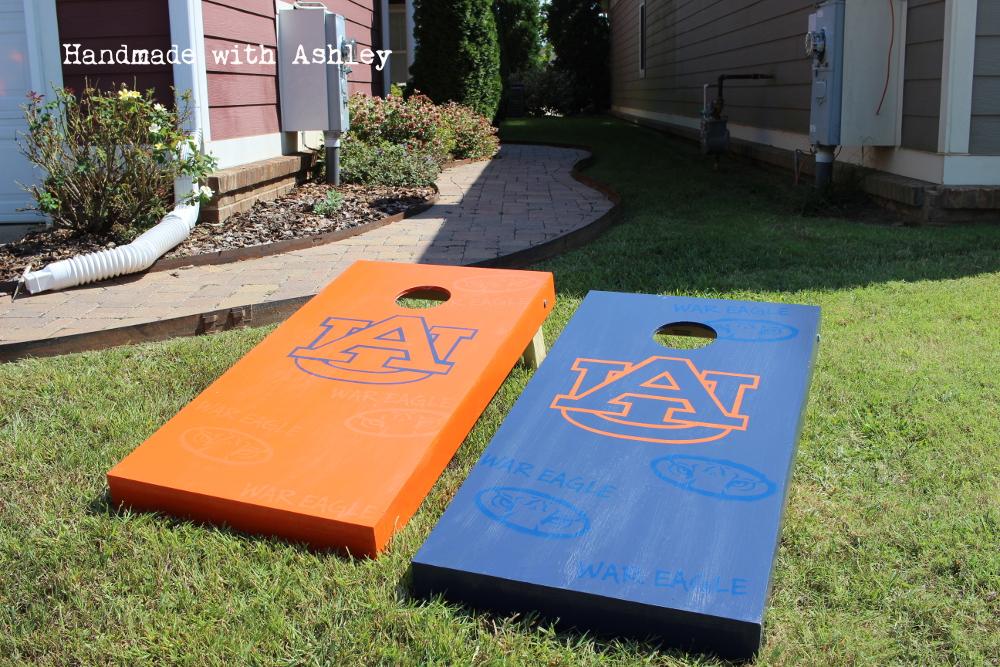 DIY Cornhole Boards