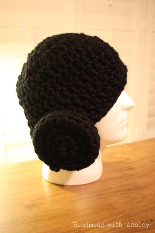 d9b3ab2df08 Crochet Princess Leia Hat - Handmade with Ashley