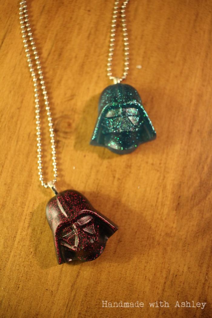 DIY Darth Vader Necklace