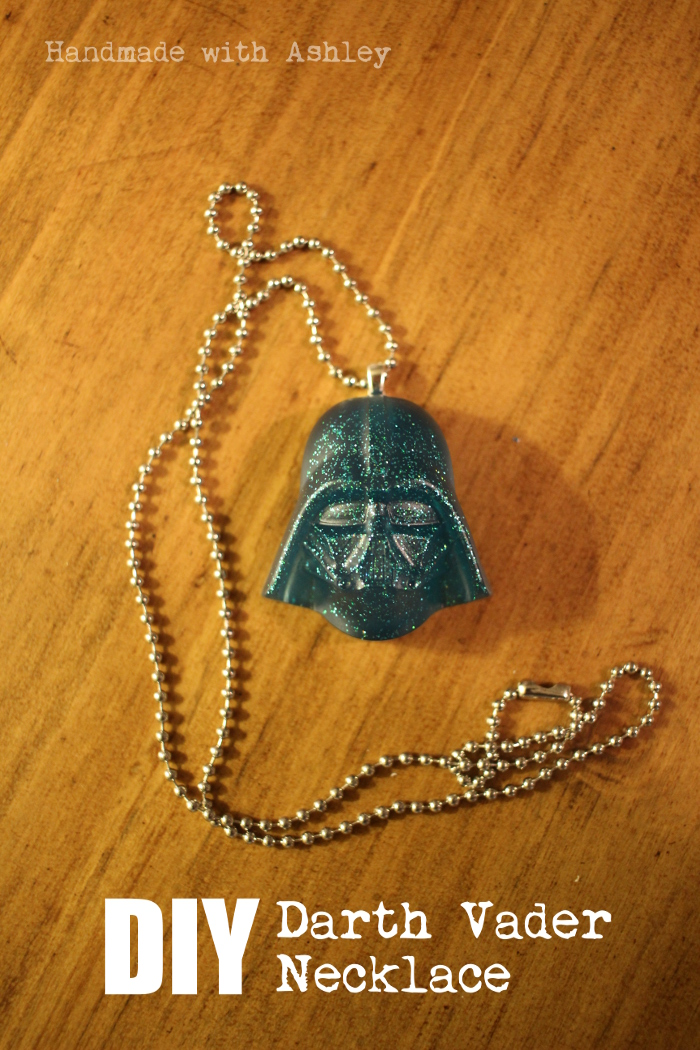 DIY Star Wars Jewelry Darth Vader Necklace Tutorial Handmade With Ashley