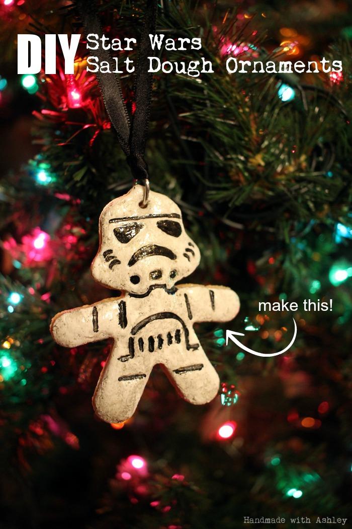 DIY Star Wars Salt Dough Ornaments