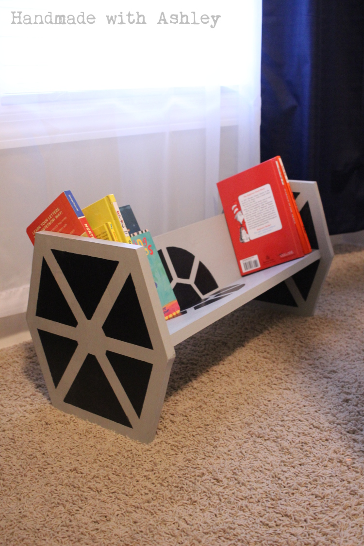 Star Wars TIE Fighter Bookshelf