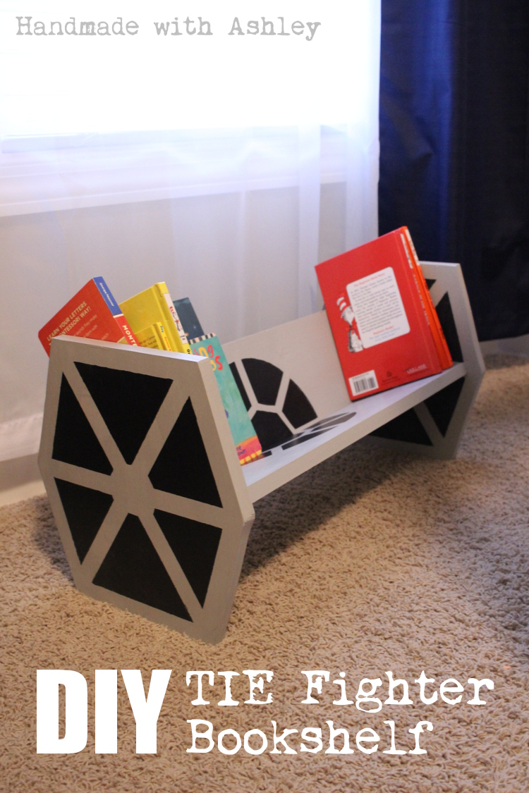 How To Build A Star Wars Tie Fighter Bookshelf Tutorial Handmade With Ashley