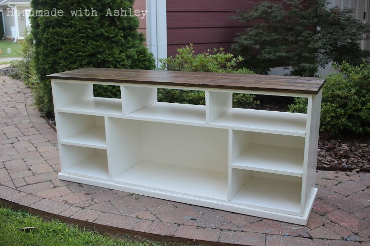 Diy Apothecary Console Plans By Ana White Handmade With Ashley