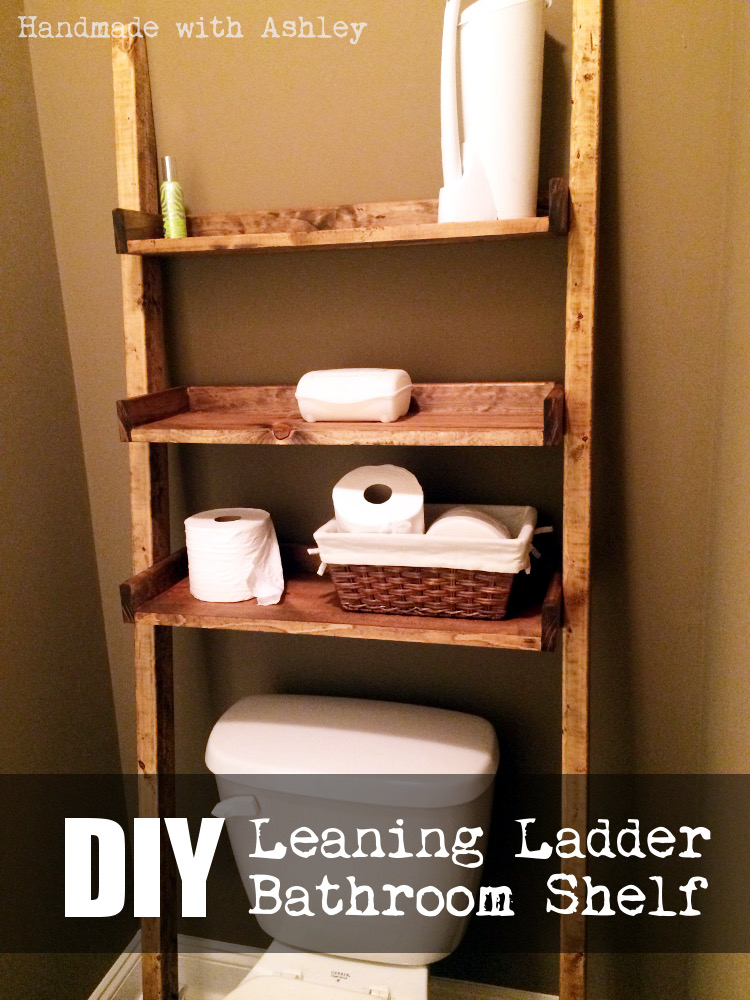 Diy leaning ladder bathroom shelf plans by ana white handmade diy leaning ladder bathroom shelf plans by ana white solutioingenieria Gallery
