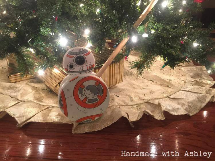 DIY BB-8 Push Toy