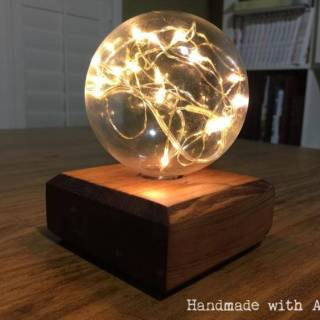 DIY Fairy Light Globe