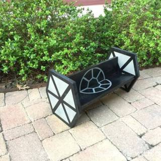 Star Wars TIE Fighter shelf