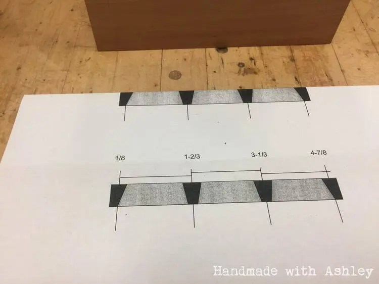 Building a dovetail box with hand cut joinery handmade for Dovetail template maker