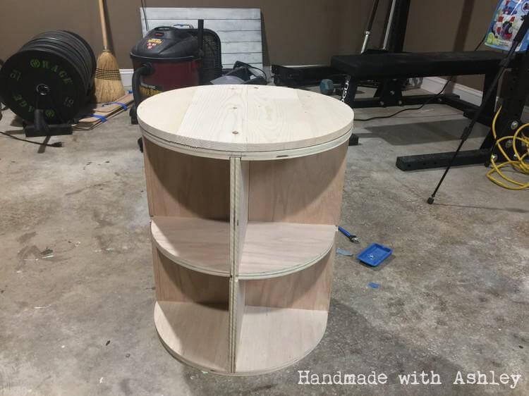 Table base assembled!