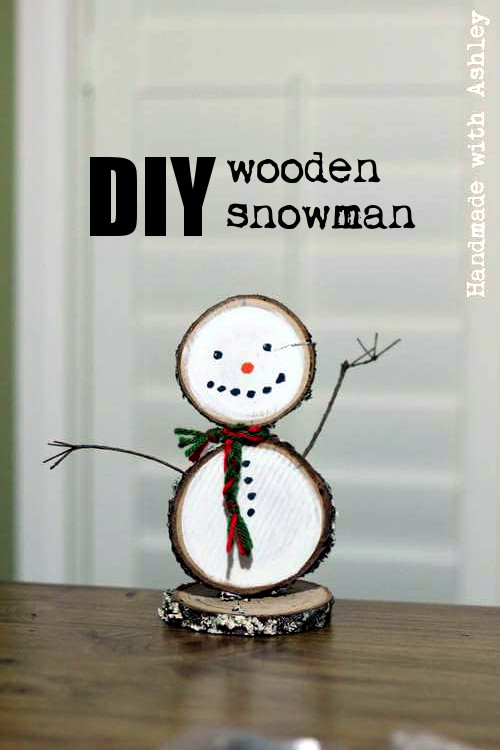DIY Wooden Snowman   Half-Hour Holiday Challenge ...