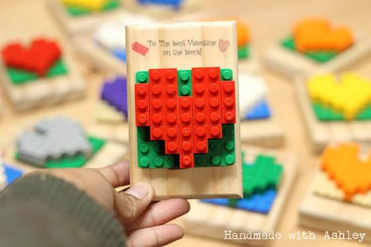 DIY LEGO Valentines