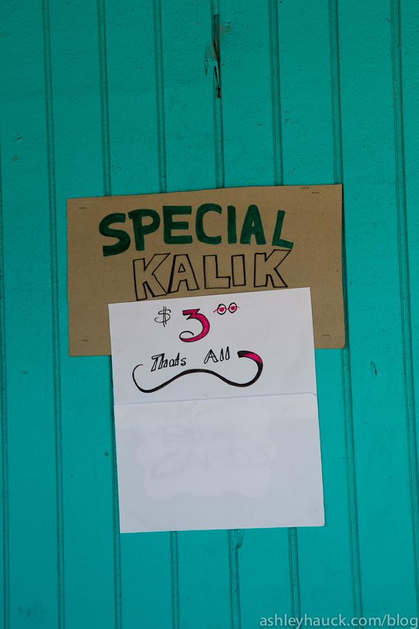 Kalik Sign, Nassau, Bahamas