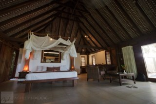 Wananavu resort honeymoon bure