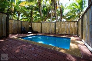 Wananavu resort honeymoon bure private pool