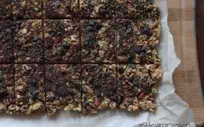No Bake Granola Bars: MY EAST COAST KITCHEN