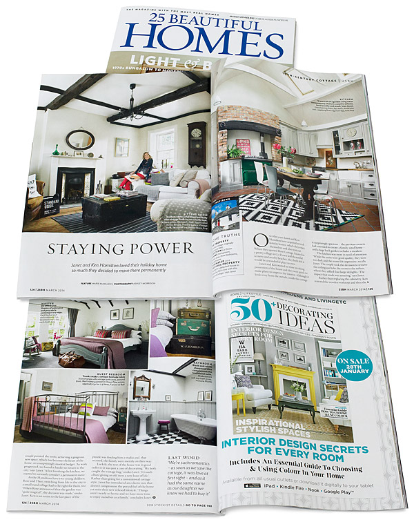 25 Beautiful Homes magazine March 2014