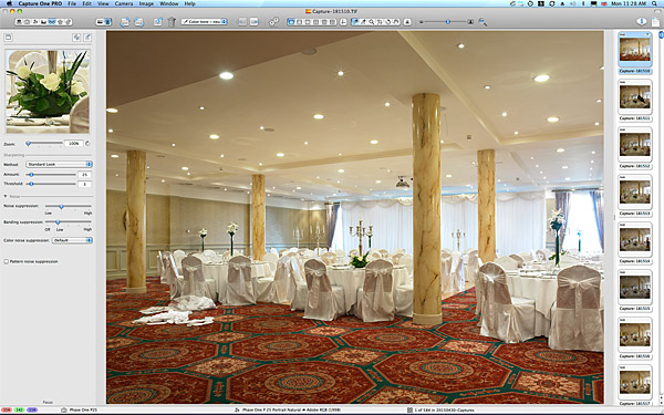 First picture taken in the Ballyvaughan ballroom at the Galway Bay Hotel.