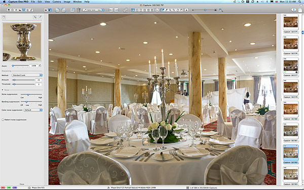 One of the pictures taken in the Ballyvaughan ballroom at the Galway Bay Hotel.